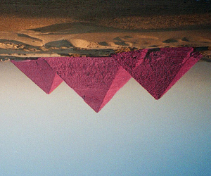 pyramids and pink image
