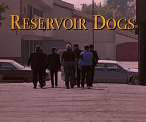 reservoir dogs, quentin tarantino, and 90s image