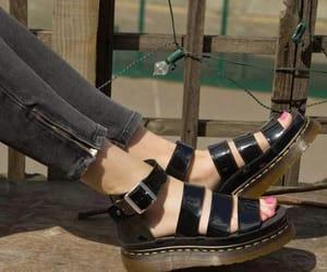 sandals and dr martens image