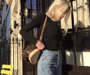 aesthetic, blonde, and blonde girl image