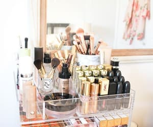 makeup, Brushes, and girl image