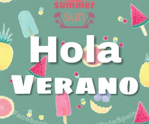 frases, hola, and summer image