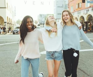 friendship, girls, and friends image