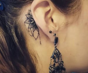 tattoo and ear image