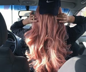 hair, nike, and hairstyle image