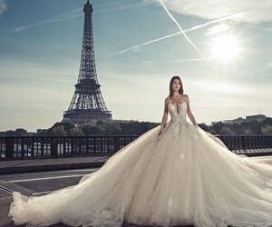 wedding, paris, and beautiful image