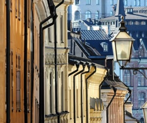 city, stockholm, and travel image