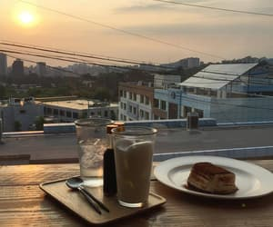 food and sunset image