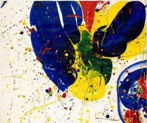 abstract, art, and sam francis image