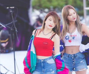 lady, le, and exid image