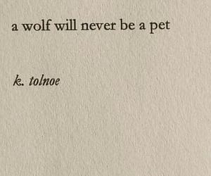 be, never, and wolf image
