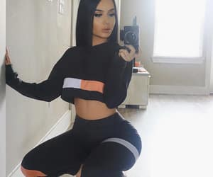 beauty, casual, and fit image