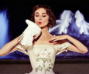 audrey hepburn, funny face, and dove image