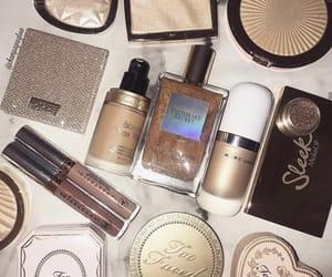 beautiful, gold, and makeup image