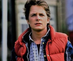 Back to the Future, marty mcfly, and boy image