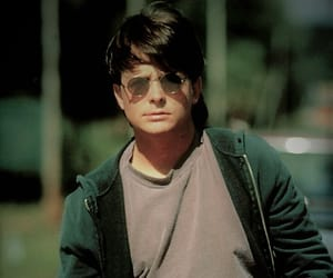 classic and michael j fox. young image