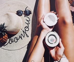 beauty, style, and summmer image