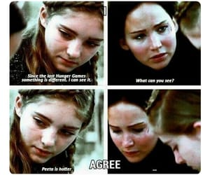 Hot, prim, and the hunger games image