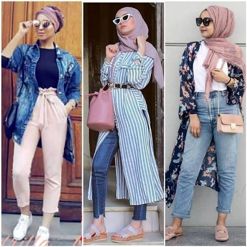 Hijabers Fashion Looks Just Trendy Girls On We Heart It
