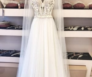 bride and wedding dress image