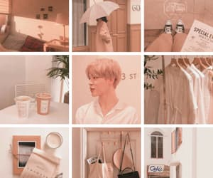 aesthetic, park jimin, and angel image