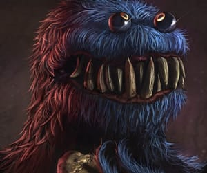 art, awesome, and cookie monster image