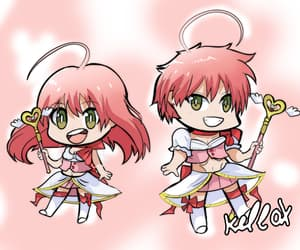chibi, magical girl ore, and fanart image