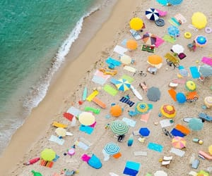 aerial photography, colorful, and summer image