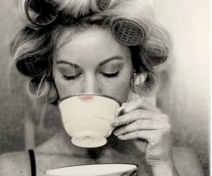 tea, vintage, and black and white image