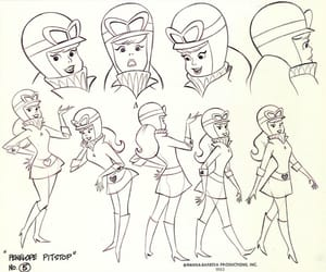 hanna barbera and penelope charmosa image