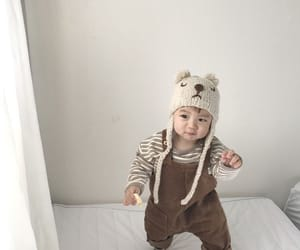 baby, cute, and korean image
