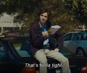 lady bird, movie, and timothee chalamet image
