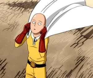 saitama, one punch man, and anime image