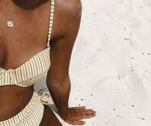 beach, body, and vintage image