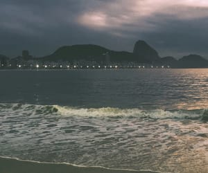beach, copacabana, and lovely image
