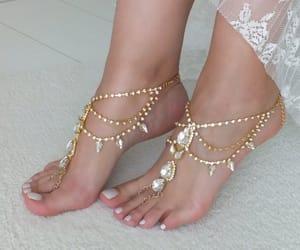 etsy, slave bracelet, and beach wedding image