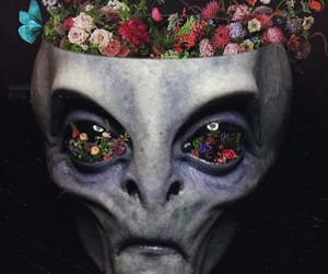 alien, art, and cool image