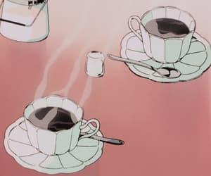 gif, anime, and coffee image