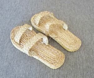 handmade, slippers, and cute slippers image