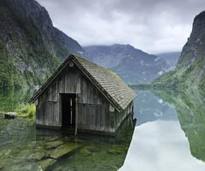 abandoned, cabin, and forgotten image
