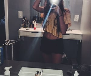 clothes, crop, and girl image