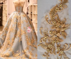 promdress, wholesale, and embroidery lace image