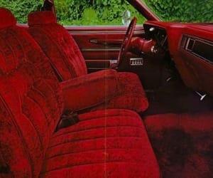 car, velvet, and red image