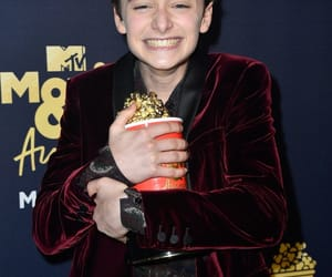 mtv movie awards, noah schnapp, and stranger things image