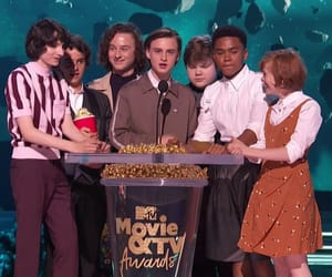 mtv movie awards, finn wolfhard, and jaeden lieberher image
