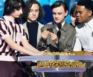 mtv movie awards, finn wolfhard, and it cast image