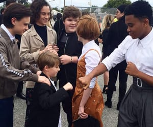 mtv movie awards, jaeden lieberher, and it cast image