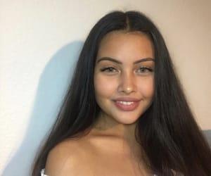 gurl, pretty, and smile image