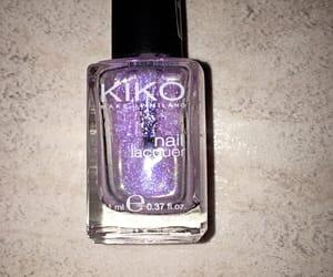 j, lilac, and nail polish image