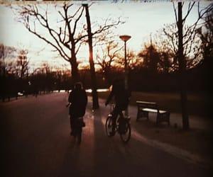 amsterdam, bikes, and sun image